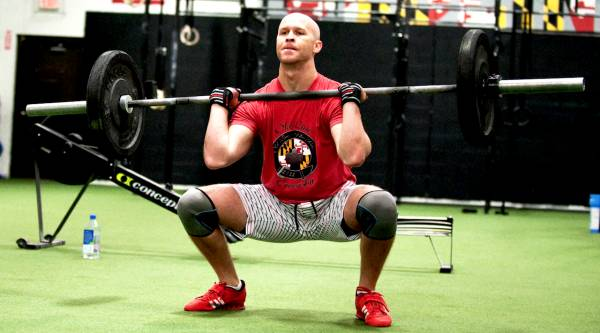 male front squat